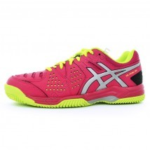 ZAPATILLAS ACSIS GEL PADEL PRO PINK YELLOW