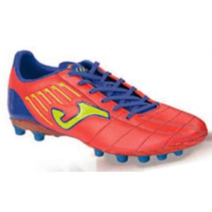 BOTA JOMA FIT-100 ULTRALIGHT NARANJA AZUL ART GRASS